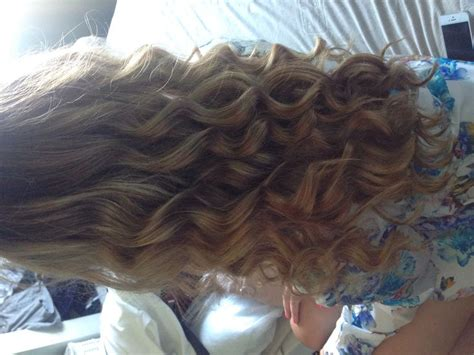 loose curls tutorial wand loose curls with wand hairstyles pinterest loose