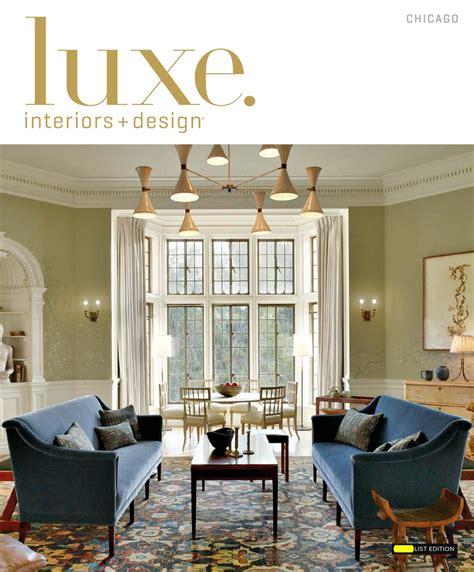 california homes winter by magazine issuu page modern luxe magazine january 2016 chicago by sandow media llc issuu
