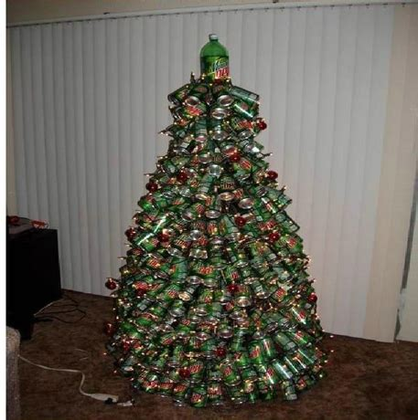 ideas de como hacer arbol navide241o con latas recicladas un 225 rbol con latas de refresco navidad tu revista navide 241 a