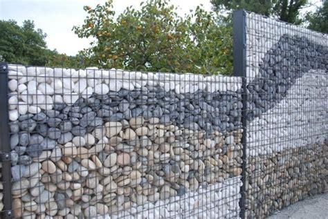 Mur En Cailloux by Mur En Gabion оsez L Int 233 Grer Dans Votre Propre Jardin
