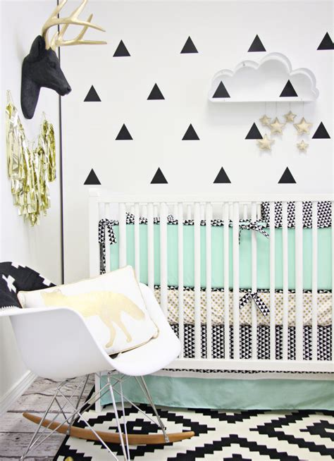 black and white nursery wallpaper gallery roundup quot fake it quot wallpaper project nursery