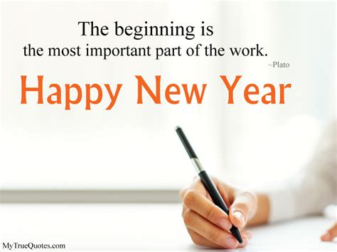 meaningful happy  year quotes   life beginning sayings status