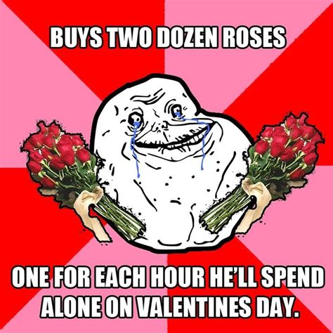 alone on valentines a michael basl s day