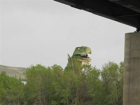 Cabins Drumheller by Largest Dinosaur Picture Of River Grove Cground And