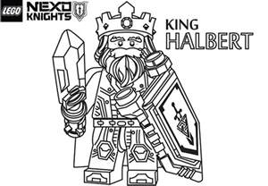 LEGO Nexo Knights Coloring Pages Released  News Latest sketch template