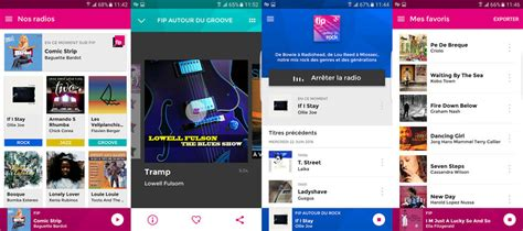 fip mobile fip 6 webradios musicales android logiciels fr