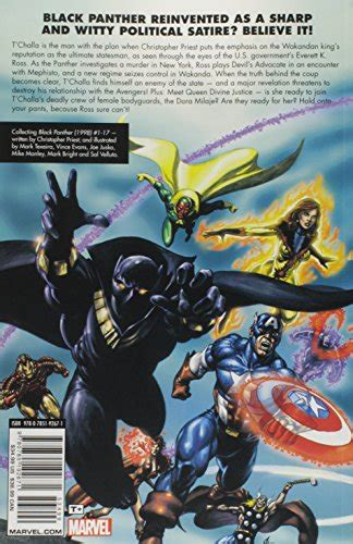 black panther by christopher 0785192670 black panther by christopher priest the complete collection volume 1 media books fiction comics