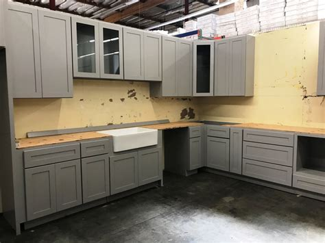 Kitchen Design Guidelines Light Grey Shaker Kitchen And Vanity Cabinets
