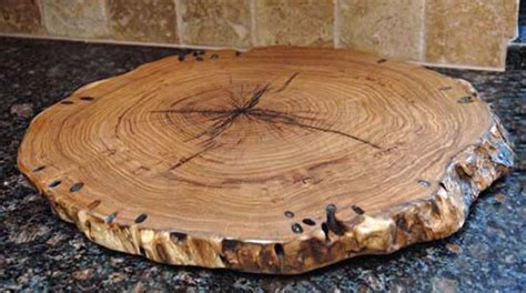 Wood Disk Placemat It Or It by How To Limit Cracking When Drying Wood Discs