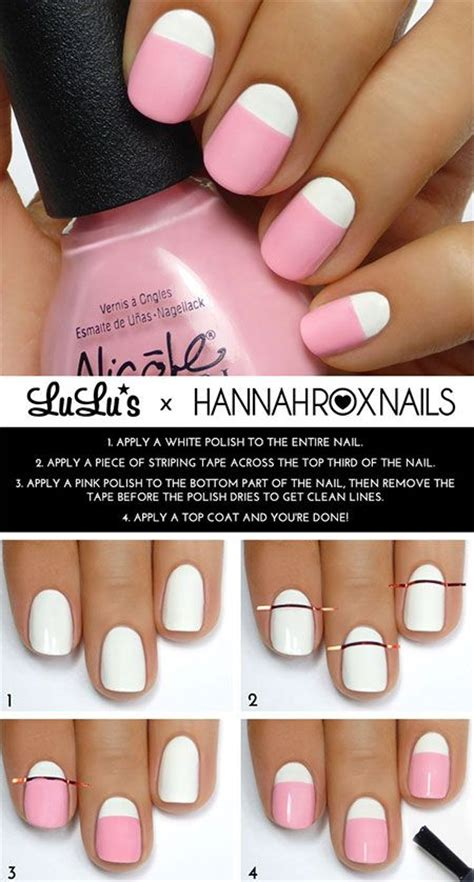 how to design your nails at home with nail 10 easy nail designs you can do at home style code