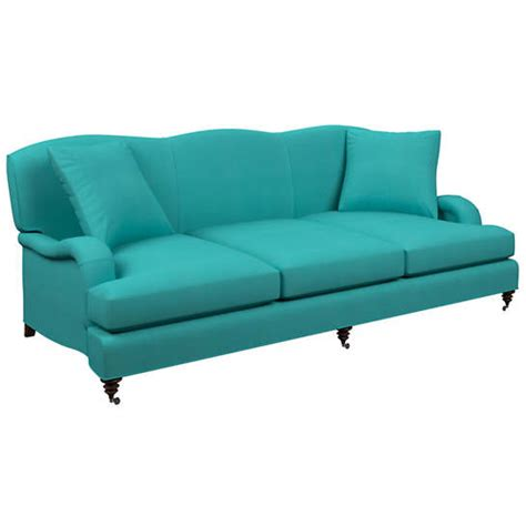 turquoise sofa for sale estate linen turquoise litchfield 3 seater sofa furniture