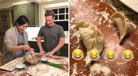 zuckerberg new year zuckerberg tries dumplings for new