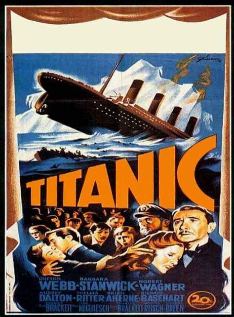 Titanic 1953 Film Titanic 1953 Filmaffinity