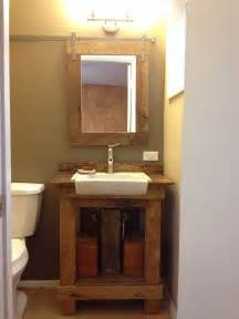 5 00 sink from restore and vanity made from free pallet