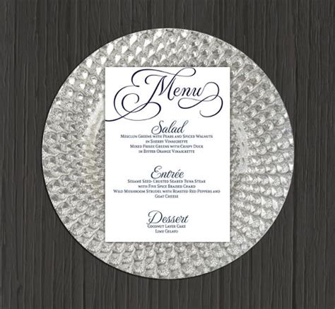 30 wedding menu templates free psd menu templates