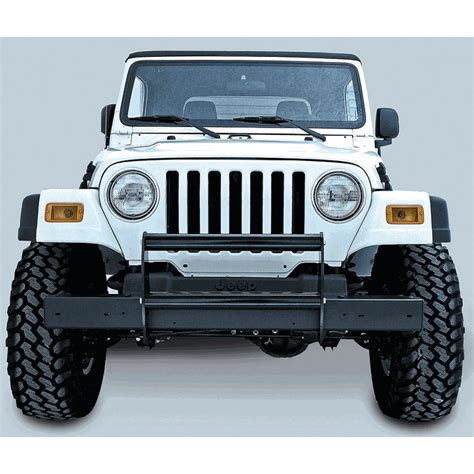 Jeep Wrangler Brush Guard All Things Jeep Brush Guard For Jeep Wrangler Tj Lj