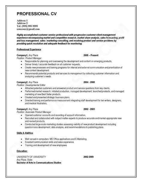 Mba Essay Font Size by Sle Resume For Executive Mba Application Executive
