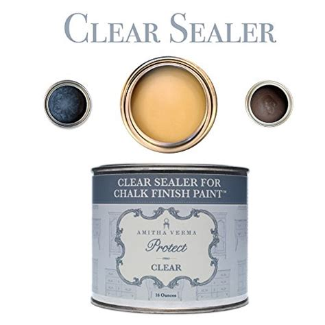 diy chalk paint sealer amitha verma clear wax and sealer for chalk finish paint
