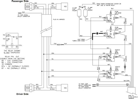 curtis plow wiring harness diagram for curtis plow coil