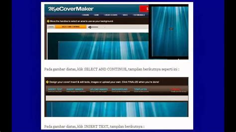 cara membuat ebook html cara membuat cover ebook youtube