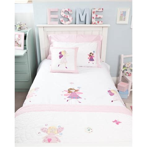 cot coverlet fairy cot bed duvet set children s bedding babyface