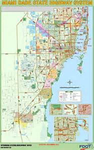 Miami Dade Map by Miami Dade Highway Map