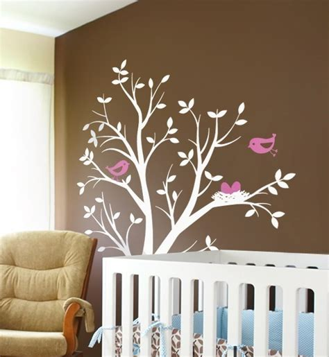 wall decals tree nursery 10 cool nursery wall stickers kidsomania