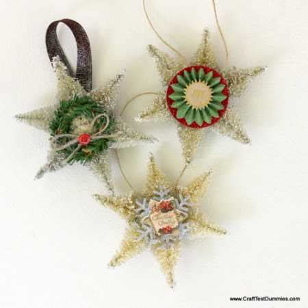 sisal snowflake ornament video tutorial home and garden