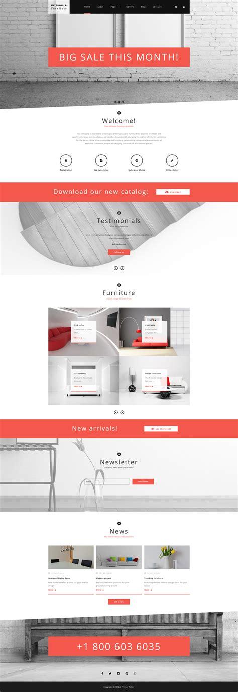 sito design arredamento modello joomla per un sito di arredamento e design