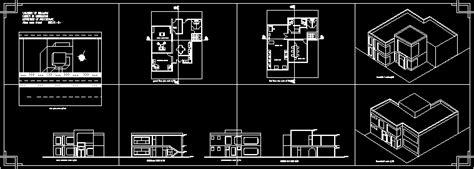 engineering offices axonometric plans iraq dwg plan