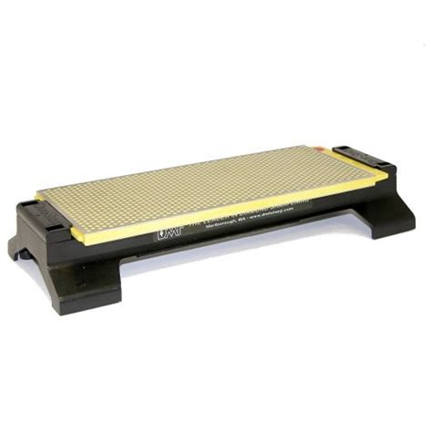 dmt bench stone dmt 10 inch duosharp bench stone extra fine fine with base