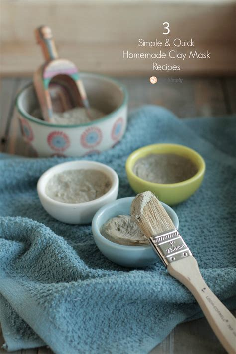 Moisturizing Diy Clay Mask Heartbeet Kitchen 3 Simple Clay Mask Recipes Live Simply