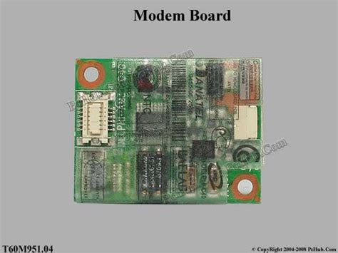 Modem Notebook Acer acer aspire 5580 series modem board t60m951 04