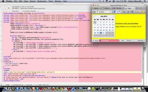 javascript yui tutorial yui ui calendar primer tutorial robert metcalfe blog