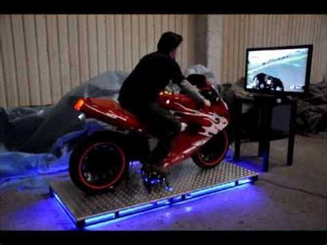 Pc Gaming Chair Hkb Real Motorbike Simulator For Ps3 Youtube