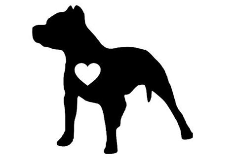 pitbull puppies colorado pit bull silhouette clipart clipart suggest