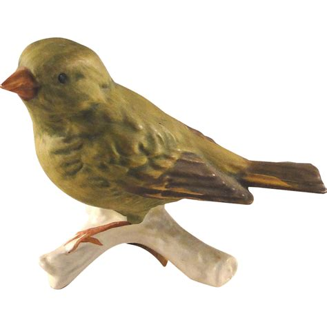 bird figures vintage goebel greenfinch bird figurine excellent