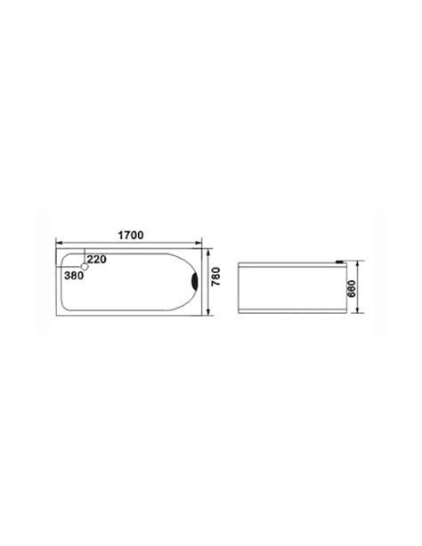 misure vasca idromassaggio vasca idromassaggio 1 posto misura 170x78 cm