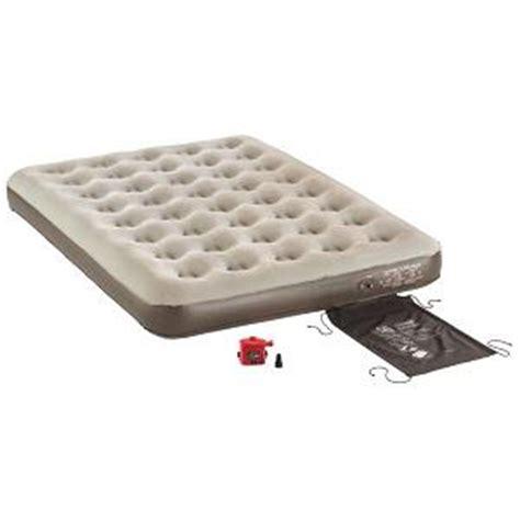 coleman air mattress with 4d cingcomfortably