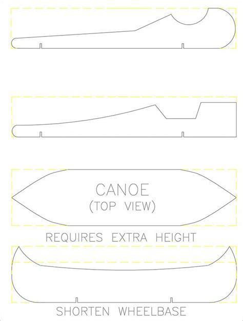 pinewood derby design templates free cool pinewood derby