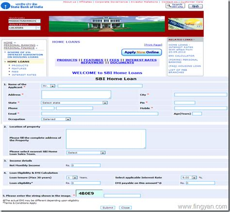 house loan sbi sbi housing loan details 28 images citibank kyc form your query free on a forum
