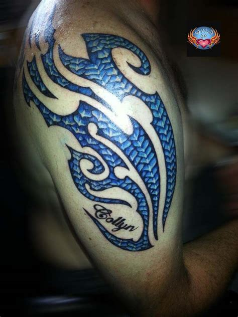 dragon scale tattoo tribal www pixshark images