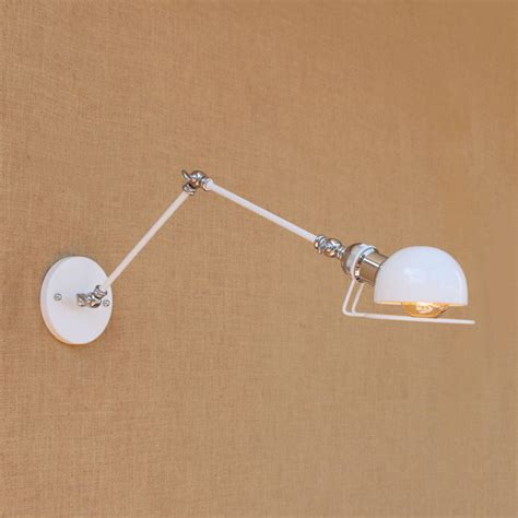 wall l swing arm sconce swing arm wall l with reading light swing arm