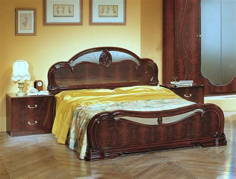 italian bedroom sets melania italian classic 5pc bedroom set