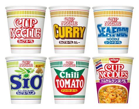 nissin instant noodles nissin cup noodle instant ramen plain curry seafood salt