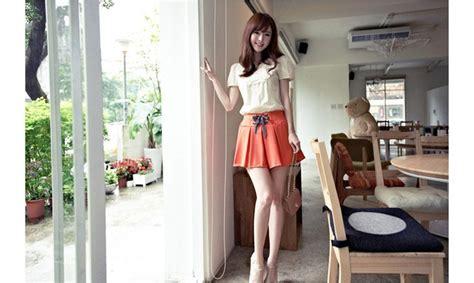 Rok Mini Moscato Merah rok korea import model terbaru jual murah import kerja