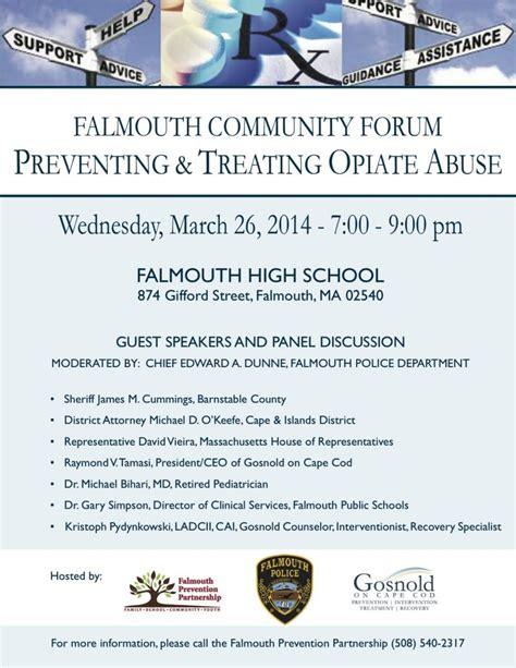 Opiate Detox Forum by Community Forum To Address Opiate Addiction Epidemic On
