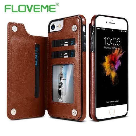 Gratis Ongkir Floveme Luxury Flip Cover Card Holder For Iphone 6 6s floveme luxury wallet for iphone 6 6s plus x bracket type leather card holder kickstand