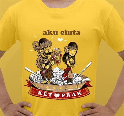 Kaos Indonesia Aku Jawa selamat datang di gubug sukartoen aku cinta ketoprak