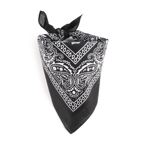 bandana on bandana noir